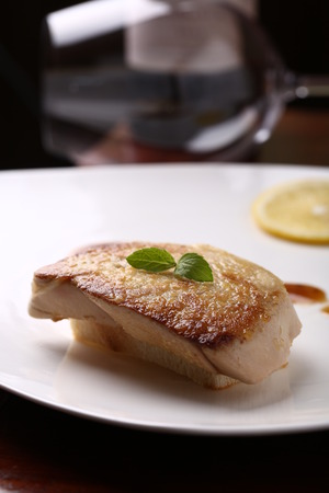 seared: pan seared fish