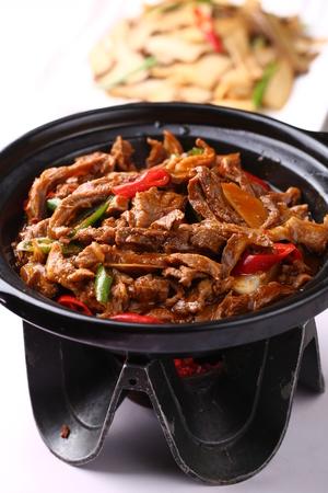 stir fried: Stir fried beef