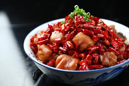 trotter: chili Pig Trotter in Vinegar
