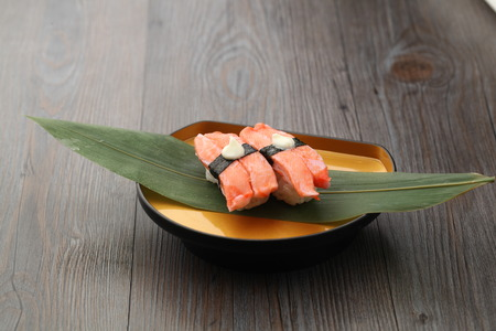 japanese cuisine - delicious crab stick sushi