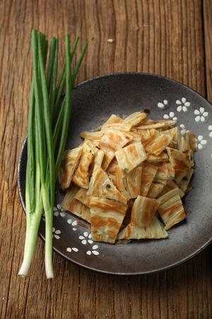 green onion: green onion pancake