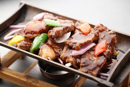 teriyaki: teriyaki pork