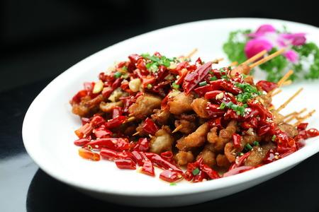 asian bunny: Spicy Rabbit skewers