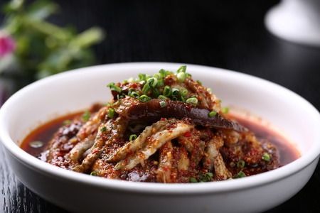 home cooked: Home cooked eggplant Stock Photo