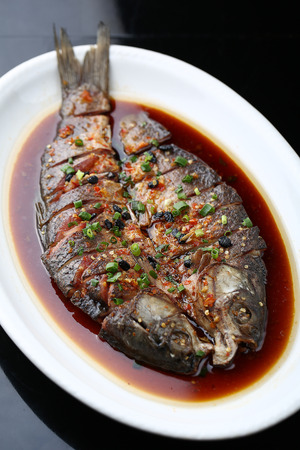 home cooked: Home cooked carp