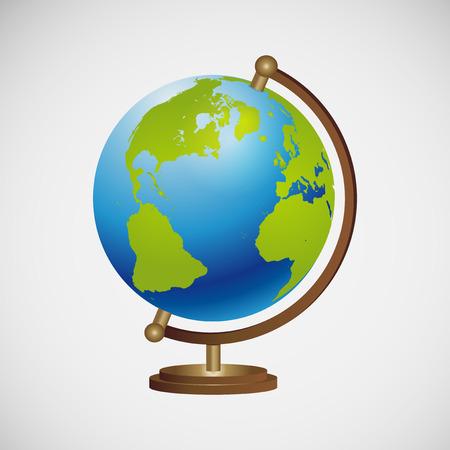 globe terrestre: globe