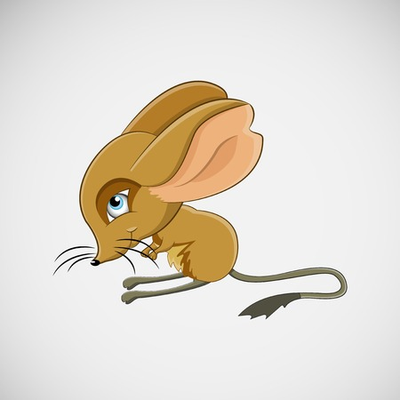 Mouse with long ears