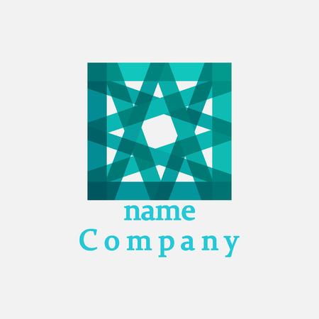 logotipo de construccion: Icono del logotipo para su negocio de promoción. Electrónica, Ingeniería, Medicina, Biotecnología, Ciencia, Laboratorio, Tecnología. Diseño vectorial