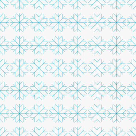 topics: Seamless pattern snowflakes for background on winter topics Illustration