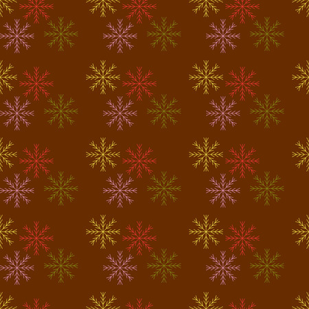 happy holidays: Seamless pattern snowflakes. Background design Happy New Year 2016. Holidays
