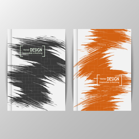 promotion: Modern flyers book cover report brochure templates for promotion. Can be used for site, banners, applications, web pages