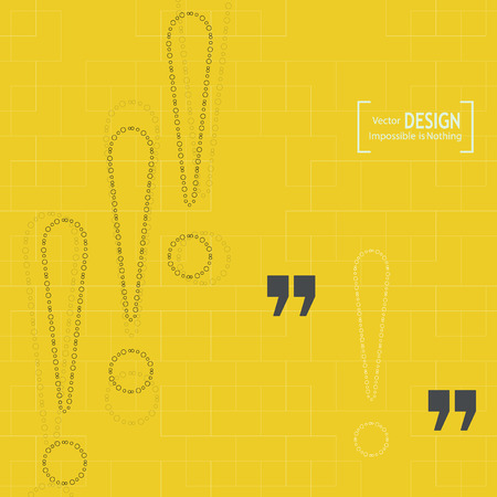 inverted: Quotation Mark Speech Bubble. Quote sign icon. Flat design with shadow Illustration