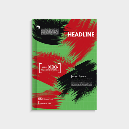 banners web: Modern flyers book cover report brochure templates for promotion. Can be used for site, banners, applications, web pages