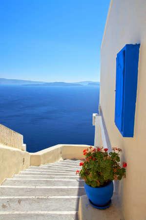 greek islands: Enter to Paradise Stock Photo