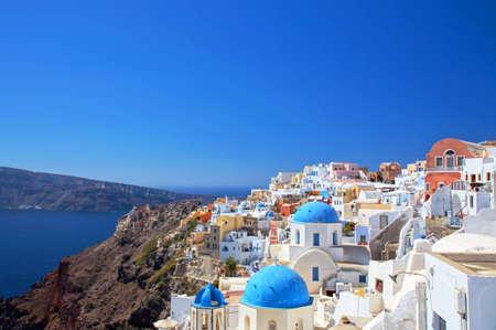 kyklades: Town of Oia