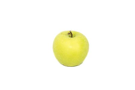 firmeza: Surtido de frutas aislados en blanco