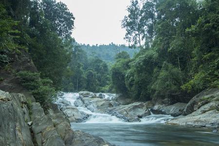Most beautiful place in Lata Renyuk at Jeli,Kelantan Malaysia with long exposure shutter.