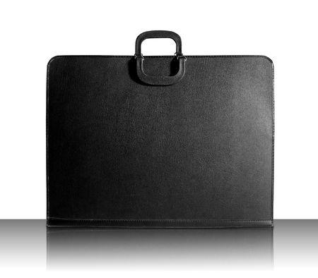 designer bag: Designer Portfolio Bag Stock Photo