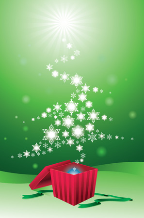 Christmas tree Stock Vector - 3843159