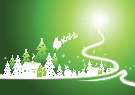 Christmas tree Stock Vector - 3843118