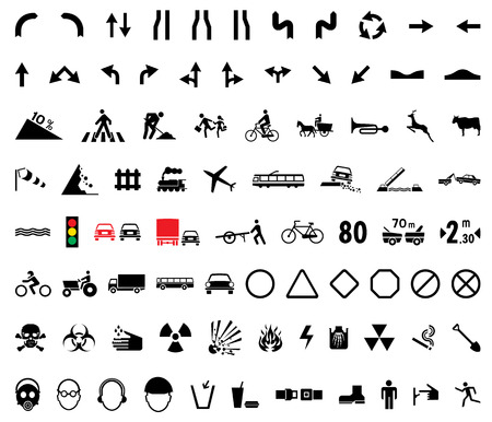 universal: 82 universal pictogram Illustration