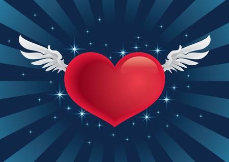 Cupid heart Stock Vector - 7511307