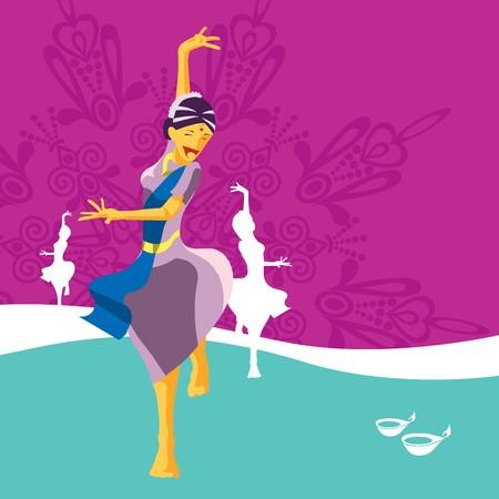 deepavali: Deepavali celebratory element Illustration