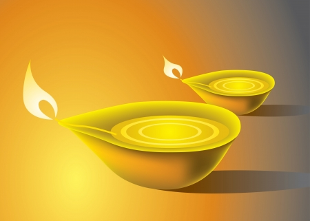 sikh: Deepavali Oil Lamp