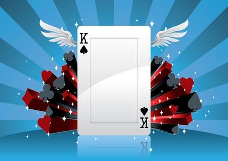 diamond clip art: Poker Background
