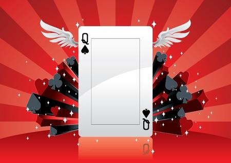black maria: Poker Background
