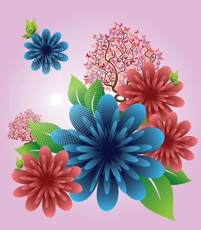 Floral Element Stock Vector - 7516565