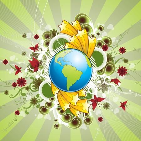 a wonderful world: A wonderful world Illustration