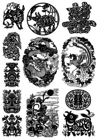 Oriental Graphics Set