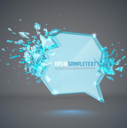 crushing: Vector Glass Bubble Crushing