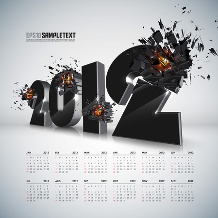 Vector 2012 Crushing with Calendar