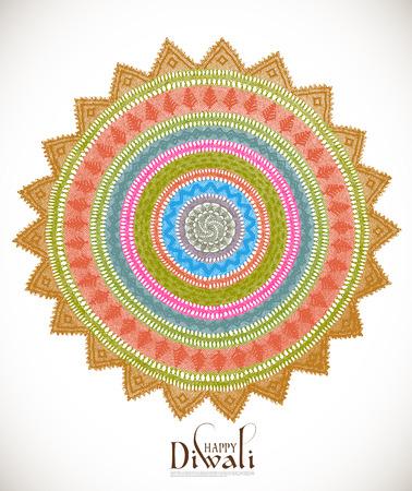 jain: Vector Diwali Kolam Patterns Illustration