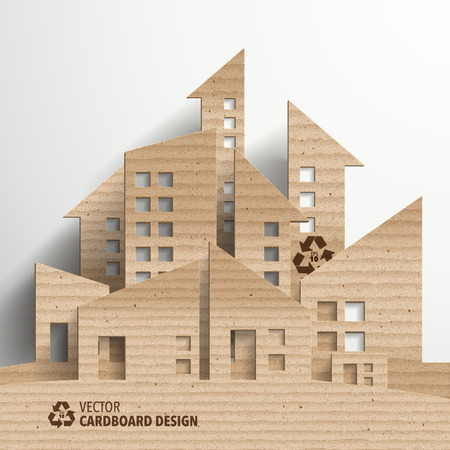 sculpture: Vector Cardboard Graphics