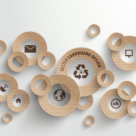 Vector Cardboard Graphics Vector