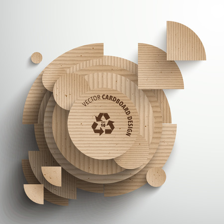 corrugated: Vector Cardboard Graphics