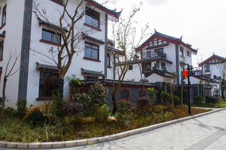 Anshun in Guizhou Miao Tunpu Old Town building photo