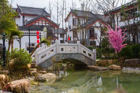 Anshun in Guizhou Miao Tunpu Old Town building