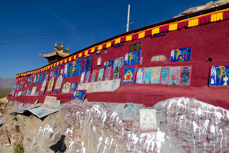 memoirs: Chakpori foothills of Tibet