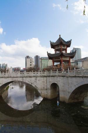 consistent: Guizhou Anshun consistent moat casual gazebo