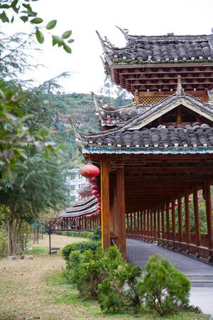 enviroment: Ancient architecture at Congjiang, Guizhou
