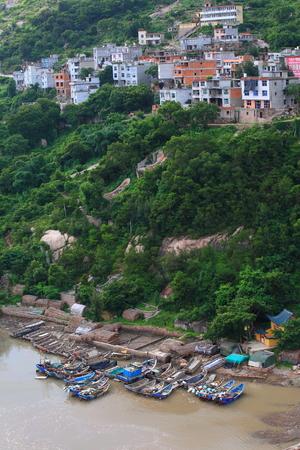 fishing village: View of a fishing village