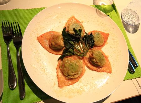 seared: A plate of pan seared dumplings