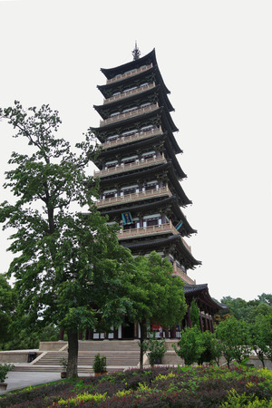 chinese pagoda: Chinese pagoda tower