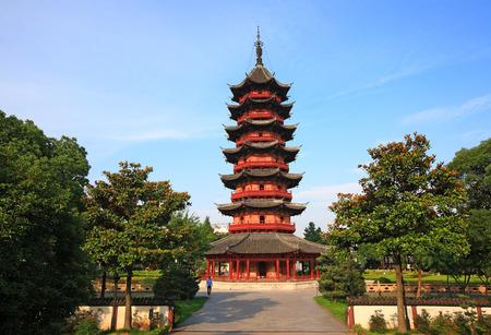 chinese pagoda: A chinese pagoda