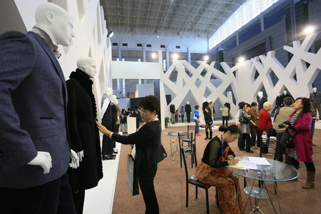 male likeness: Fashion enthusiast in the exhibition