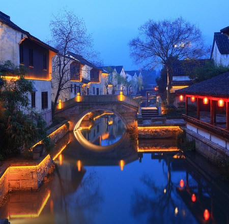 yuan: View of Kai Yuan Resort at night